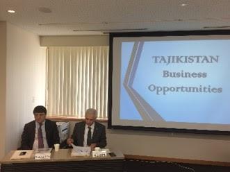 2016年10月26日、ロシアNIS貿易会は、タジキスタンを代表する大企業「タジキスタン・アルミニウム会社(TALCO)」を筆頭とする同行企業代表団の訪日に合わせて、東京にて「タジキスタン投資プレゼンテーション」を開催しました。